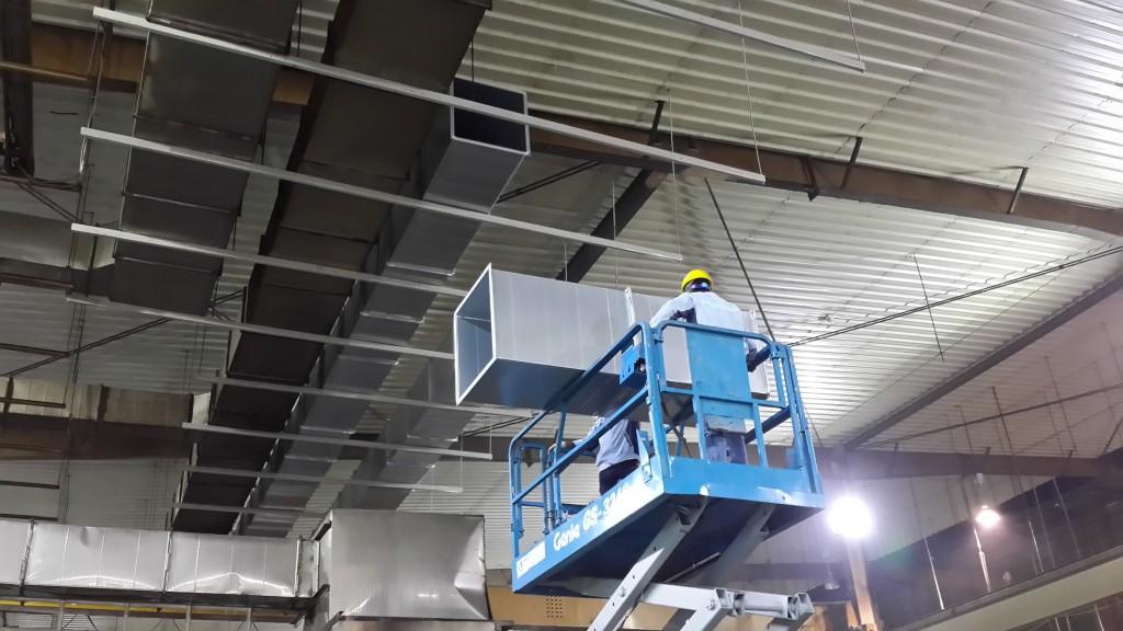 Thi công lắp đặt hệ thống thông gió