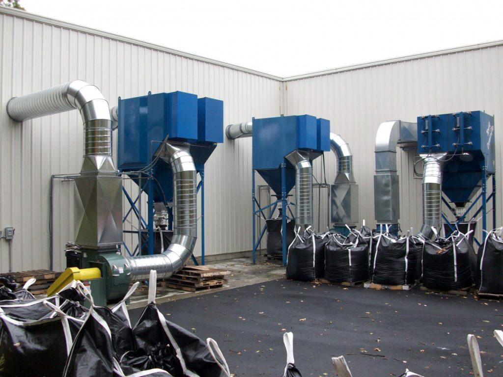 Loathanhduct Hệ thống hút bụi kim loại (hình ảnh thực tế)