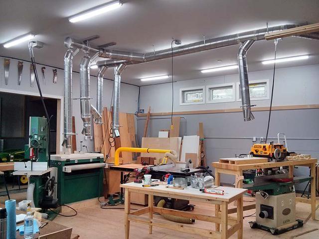 Loathanhduct Hệ thống hút bụi gỗ